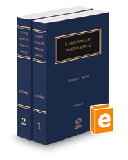 Illinois Appellate Practice Manual, 2018 ed.