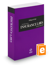 DiMugno & Glad California Insurance Laws Annotated, 2019 ed. (California Desktop Codes)
