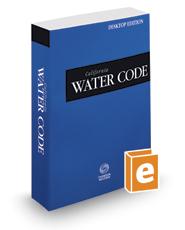 California Water Code, 2017 ed. (California Desktop Codes)