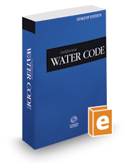 California Water Code, 2018 ed. (California Desktop Codes)