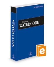 California Water Code, 2022 ed. (California Desktop Codes)