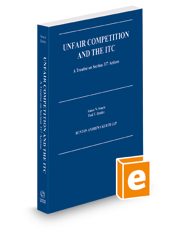 Unfair Competition and the ITC, 2020-2021 ed.