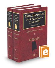 Trial Handbook for Alabama Lawyers, 3d (Alabama Practice Series)