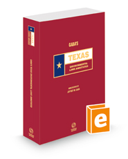 Gaba's Texas Environmental Laws Annotated, 2020 ed. (Texas Annotated Code Series)