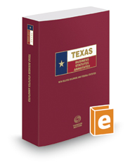 Texas Business Statutes Annotated, 2016 ed. (Texas Annotated Code Series)