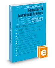 Regulation of Investment Advisers, 2018 ed. (Securities Law Handbook Series)