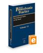 Pennsylvania Rules of the Road, 2020-2021 ed. (Vol. 13, West's® Pennsylvania Practice)