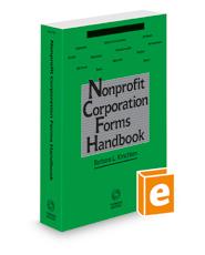 Nonprofit Corporation Forms Handbook, 2021 ed.