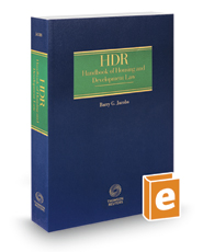 HDR Handbook of Housing and Development Law, 2016-2017 ed.