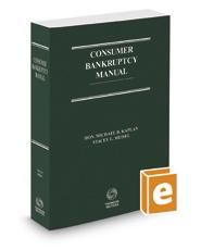 Consumer Bankruptcy Manual, 2d, 2016-2017 ed.