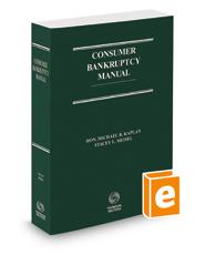 Consumer Bankruptcy Manual, 2d, 2017-2018 ed.