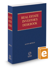 Real Estate Investor's Deskbook, 2017 ed.