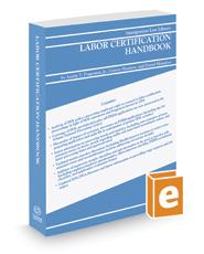 Labor Certification Handbook, 2017-2018 ed.