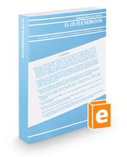 H-1B Handbook, 2018 ed.
