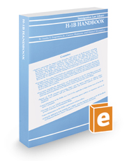 H-1B Handbook, 2019 ed.