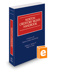 Norton Creditors' Rights Handbook, 2018 ed.