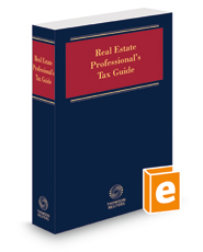 Real Estate Professional's Tax Guide, 2021-1
