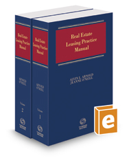 Real Estate Leasing Practice Manual, 2017-2 ed.