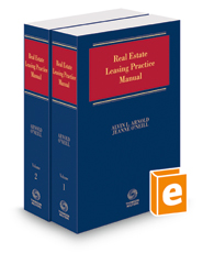 Real Estate Leasing Practice Manual, 2018-1 ed.
