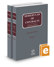 Modern Law of Contracts, 2017 ed.
