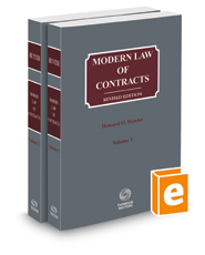 Modern Law of Contracts, 2021 ed.