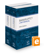 Bankruptcy Law Manual, 5th, 2016-1 ed.