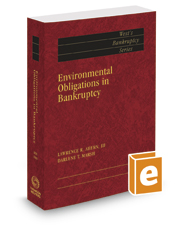 Environmental Obligations in Bankruptcy, 2017 ed. (West's® Bankruptcy Series)