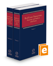 Real Estate Transactions - Structure and Analysis with Forms, 2021-1 ed.