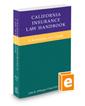 California Insurance Law Handbook, 2016 ed.