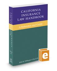 California Insurance Law Handbook, 2017 ed.