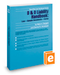 D & O Liability Handbook: Law—Sample Documents—Forms, 2017-2018 ed. (Securities Law Handbook Series)