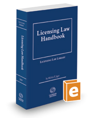 Licensing Law Handbook, 2016-2017 ed.