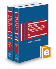 New York Products Liability, 2d, 2021 ed.