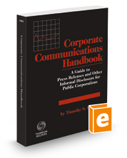 Corporate Communications Handbook, 2018-2019 ed.