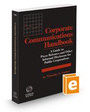 Corporate Communications Handbook, 2021 ed.