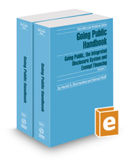 Going Public Handbook, 2016 ed. (Securities Law Handbook Series)