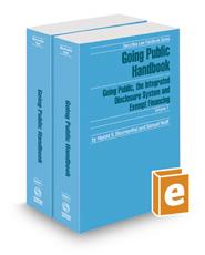 Going Public Handbook, 2017 ed. (Securities Law Handbook Series)