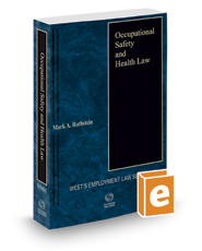 Occupational Safety and Health Law, 2019 ed.