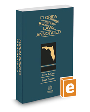Florida Business Laws Annotated, 2019-2020 ed.