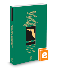 Florida Business Laws Annotated, 2020-2021 ed.