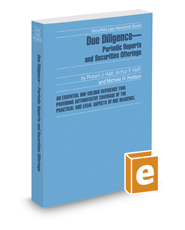 Due Diligence—Periodic Reports and Securities Offerings, 2019-2020 ed. (Securities Law Handbook Series)