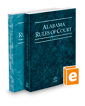 Alabama Rules of Court - State and Federal, 2017 ed. (Vols. I & II, Alabama Court Rules)