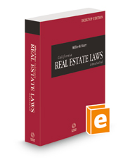 Miller and Starr California Real Estate Laws Annotated, 2022 ed. (California Desktop Codes)