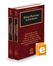 Estate Planning in Louisiana, 2020-2021 ed. (Louisiana Practice Series)