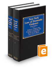 New York Law of Domestic Violence, 3d