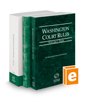Washington Court Rules - State, Federal, and Local, 2017 ed. (Vols. I-III, Washington Court Rules)