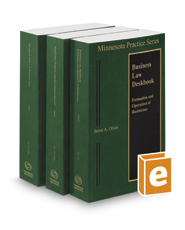 Minnesota Business Law Deskbook, 2016-2017 ed. (Vols. 20 & 20A, Minnesota Practice Series)