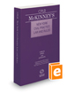 McKinney's New York Civil Practice Law and Rules, 2018 ed.