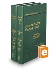 Jury Instruction Guides – Civil, 6th (Vols. 4 & 4A, Minnesota Practice Series)