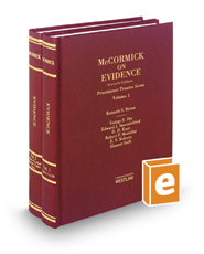 McCormick on Evidence, 8th (Practitioner Treatise Series)